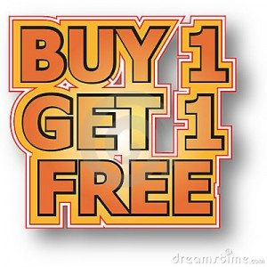 Buy 1 Get 1 Free on selected Rods & Reels